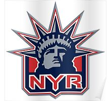 New York Ranger Liberty Sport Poster
