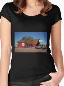 Route 66 - Bagdad Cafe Women's Fitted Scoop T-Shirt