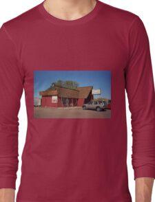 Route 66 - Bagdad Cafe Long Sleeve T-Shirt