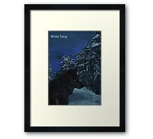 Jack London - White Fang Framed Print