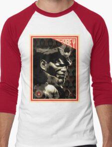 M. Bison Men's Baseball ¾ T-Shirt