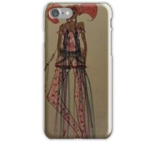 Hair in two Beauty iPhone Case/Skin
