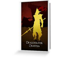 DragonSlayer Ornstein  Greeting Card