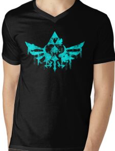 Skyward Symbol - Aqua Mens V-Neck T-Shirt