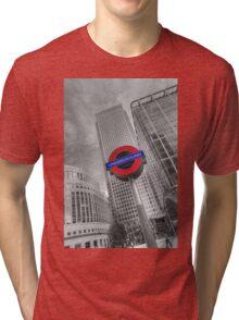 Underground, overground Tri-blend T-Shirt