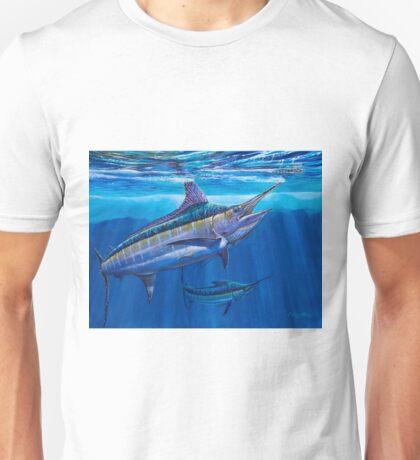 Blue Marlin Bite Unisex T-Shirt