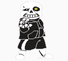 Undertale - Sans - Undertale skeleton Kids Tee