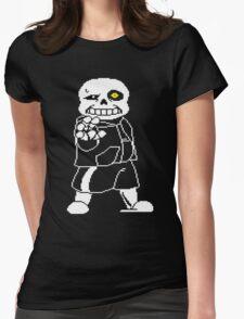 Undertale - Sans - Undertale skeleton Womens Fitted T-Shirt