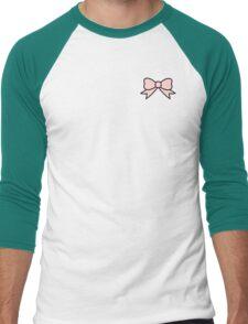 pink bow 2 Men's Baseball ¾ T-Shirt