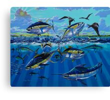 Yellowfin Run Canvas Print