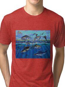 Yellowfin Run Tri-blend T-Shirt