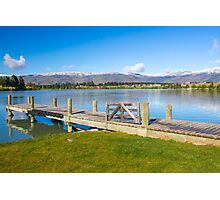 Lake Dunstan Photographic Print