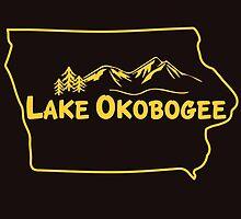 Lake Okobogee, Iowa by CowBeck