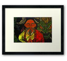 """Dragon Style"" Framed Print"