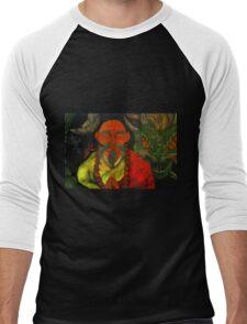 """Dragon Style"" Men's Baseball ¾ T-Shirt"