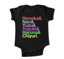 Syachi goes Helvetica One Piece - Short Sleeve
