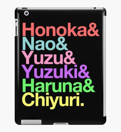 Syachi goes Helvetica iPad Case/Skin