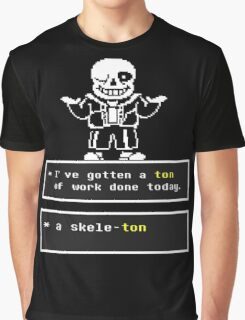 Undertale Sans Graphic T-Shirt