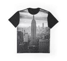 New York Empire State Building Graphic T-Shirt