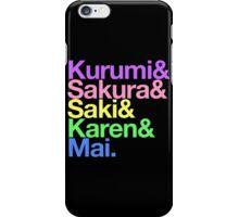 Takoniji goes Helvetica iPhone Case/Skin