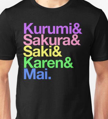 Takoniji goes Helvetica Unisex T-Shirt