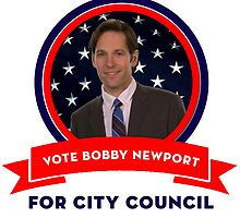 Vote Bobby Newport - Parks And Recreation by icetown