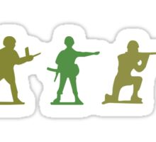 Army Men - Camo Edition Sticker