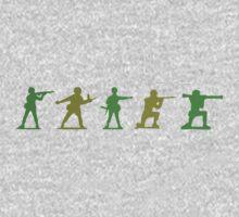 Army Men - Camo Edition One Piece - Long Sleeve