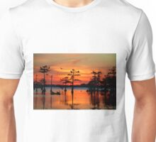 Sunset on the Bayou Unisex T-Shirt