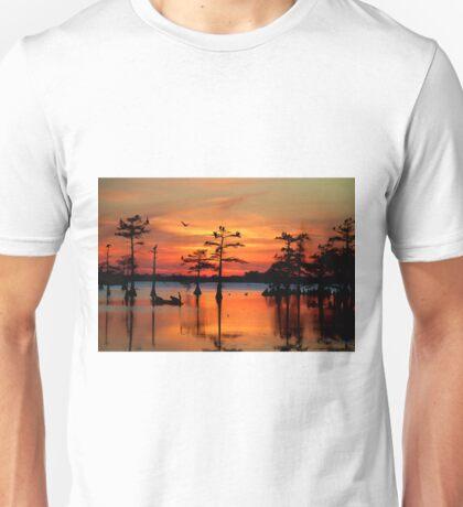 Sunset on the Bayou Unisex T-Shirt