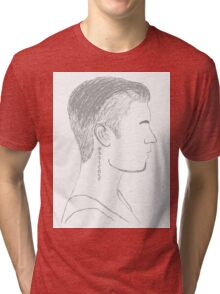 Justin Bieber Profile Tri-blend T-Shirt