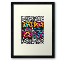 KEITH SHOP Framed Print