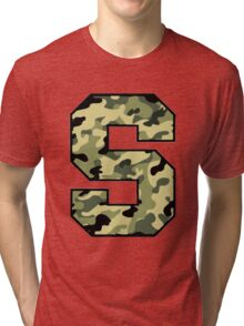 Camouflage Syracuse 'S' Logo Tri-blend T-Shirt