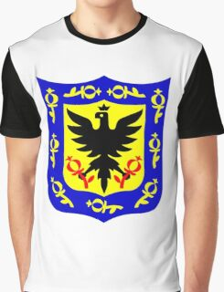The coat of arms of Bogota, Colombia. Graphic T-Shirt
