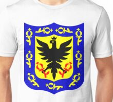 The coat of arms of Bogota, Colombia. Unisex T-Shirt