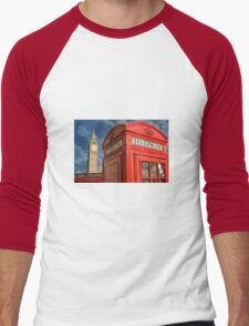 Quintessential London Men's Baseball ¾ T-Shirt