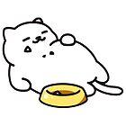 Neko atsume - Tubbs cat by biteki