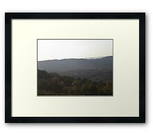 Height & Weight Framed Print