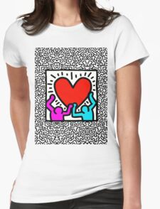 Keith BIG LOVE Womens Fitted T-Shirt