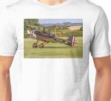 RAF SE5a Biplane F904 G-EBIA rolling out Unisex T-Shirt