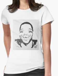 Michael Strahan Portrait Womens Fitted T-Shirt