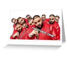 DJ Khaled Collection Greeting Card