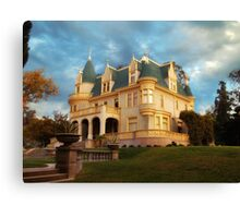 """Kimberly Crest, Victorian Splendor"" Canvas Print"