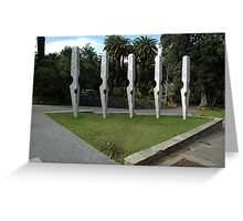 Nibs Sculpture, Perth, Western Australia 2007 Greeting Card