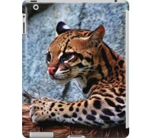 Ocelot Painted iPad Case/Skin