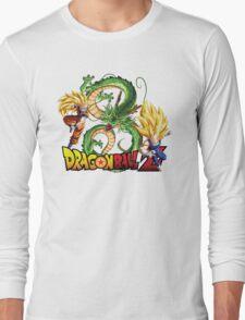 Dream Match Versus - Son Goku VS Vegeta Super Saiyan 3 Long Sleeve T-Shirt