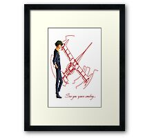 See You Space Cowboy ... - Cowboy Bebop Framed Print