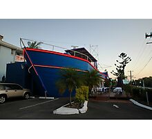 Ship Out Of Water, Queensland, Australia 2008 Photographic Print