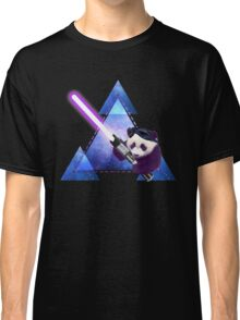 Galactic Panda With Lightsaber Classic T-Shirt