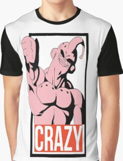 Crazy Buu - Dragon Ball Graphic T-Shirt
